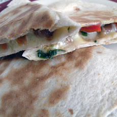 Bean and Cheese Quesadilla