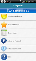Screenshot of Predictions  Euromillions 31