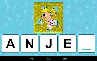 Screenshot of Abeceda pre deti -výučbové hry