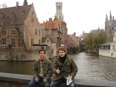 Canal em Brugge