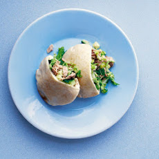 Lemony Tuna Pitta Pockets