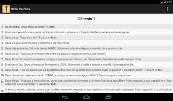 Screenshot of Bíblia Católica
