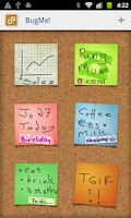 Screenshot of BugMe! Stickies Pro