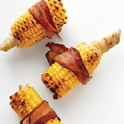 Bacon-Wrapped Corn