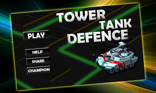 Tower Tank Defence