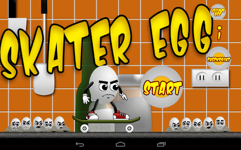 Skater Egg - screenshot