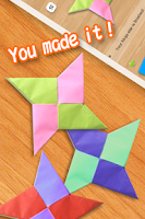 Screenshot of Kids Origami
