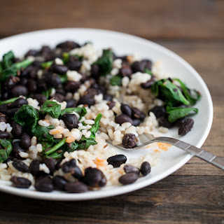 5-Ingredient Black Bean and Rice