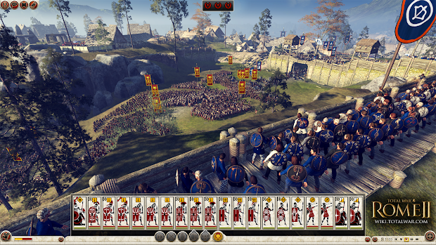 New update arrives for Total War: Rome II