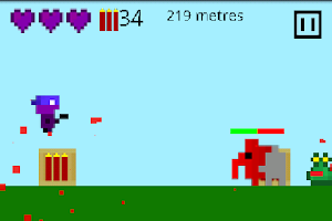 Screenshot of Monster Bounce Free