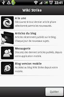 Screenshot of Wiki Strike Actualité