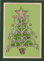 Lynn Roberts 20 Foam Stamp 'O Christmas Tree