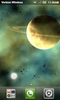 Screenshot of Rogue Planet LWP Full