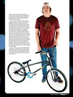 Screenshot of BMX PLUS! MAGAZINE