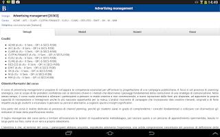 Screenshot of Bocconi