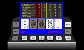 Screenshot of Poker Video Machine