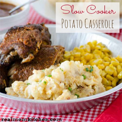 Slow Cooker Potato Casserole