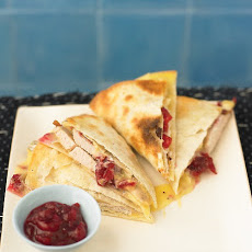 Quesadillas with Chutney and Brie
