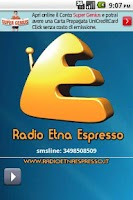 Screenshot of Radio Etna Espresso