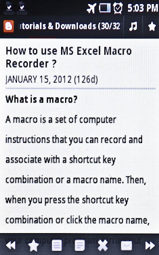 Learn MS Excel Tips Tricks