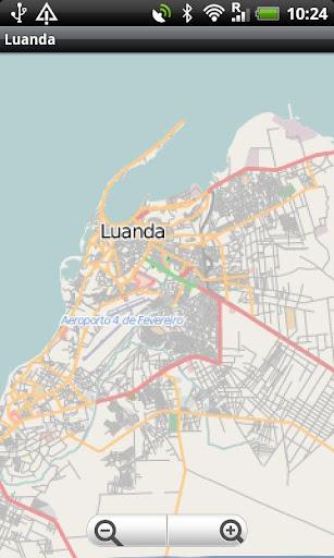 Luanda Street Map