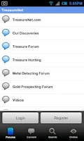 Screenshot of TreasureNet Forum