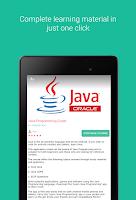 Screenshot of Java Programming Guide