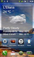 Screenshot of Clima Widget