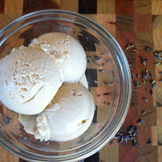 Honey Lavender Ice Cream