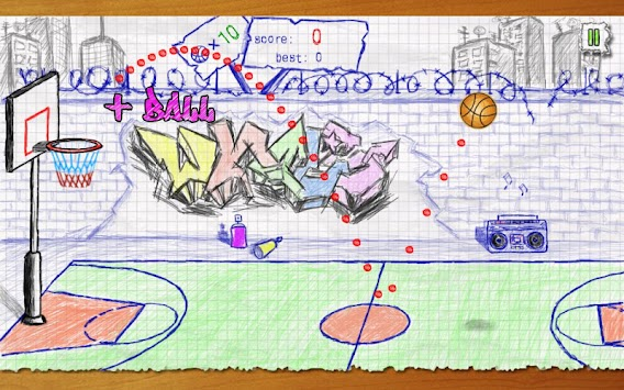 Doodle Basketball APK screenshot thumbnail 10