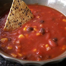 Tomato Taco Soup for the Crock Pot