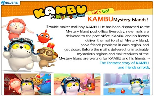 KAMBU in Mystery island - screenshot