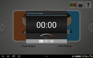Screenshot of Quick Talk AAC