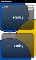 Screenshot of Learn Swedish Deluxe