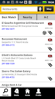 Screenshot of Aruba Yellow Pages