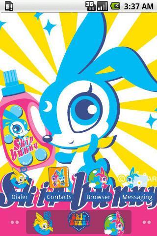 Skip Bunny Winter_SQTheme_ADW
