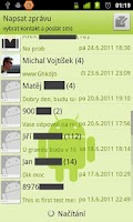 Screenshot of Free SMS Sender