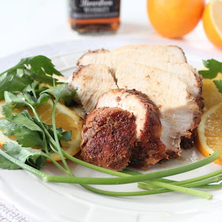Orange Bourbon Crock Pot Turkey Breast