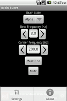 Screenshot of Brain Tuner