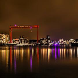 Night in Gothenburg by Peter Björklund - City,  Street & Park  Skylines