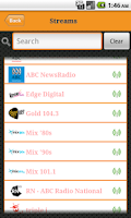 Screenshot of Australia Radio