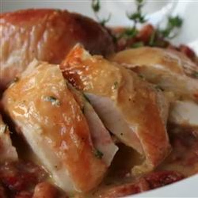 Chef John's Salt Roasted Chicken
