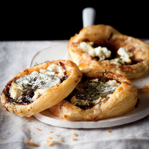 Sweet Onion & Goat's Cheese Tartlets