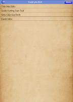 Screenshot of Truyện Kiếm Hiệp