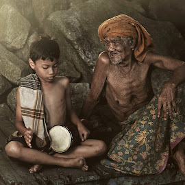 My Gramps by Rizalman Ali - People Portraits of Men ( village, human interest, hyper portrait, heritage )