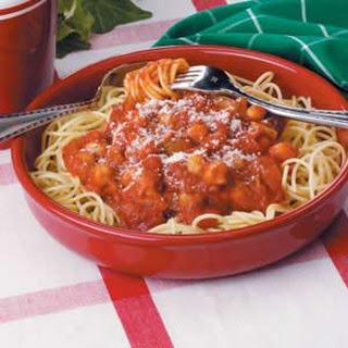 Vegetarian Spaghetti Sauce Recipes