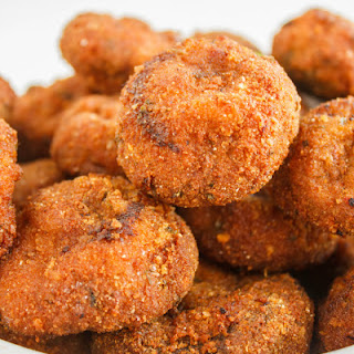 Crispy Deep-Fried Breaded Mushrooms