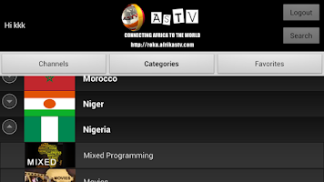 Screenshot of AfrikaSTV - ASTV
