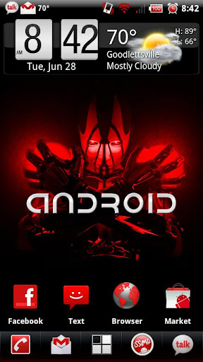 RedX Theme for CyanogenMod