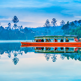 Boat by Agustian Harun - Landscapes Travel ( lake, boat )
